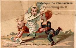 CHROMO  A L ANGE GARDIEN L EQUIPAGE DU CLOWN - Chromos