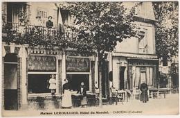 Maison Leroullier. Hôtel Du Marché. Cabourg. Calvados. - Cabourg