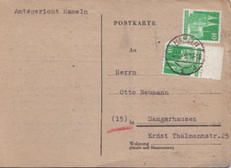 Germany Postcard From 1949, Hameln - Zone Anglo-Américaine