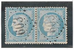 TIMBRES N° 60/1 ;  PAIRE  59/60  B2 ,   TTB - 1871-1875 Cérès