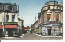 59.033.02 - AULNOYE - RUE DE LA GARE  ( Animées ) - Aulnoye