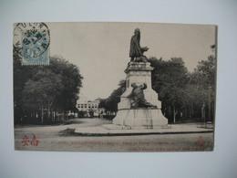 Carte  Cochinchine - Saigon   Place Et Statue Gambetta  Pour La France  Aveyron  1907 - Monuments