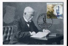 38630 Germany, Maximum 2005,   Nobel Prize   Prix Nobel Doctor  Robert Koch - Prix Nobel