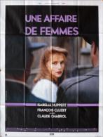 - Affaire De Femmes (une) 1988 - Affiche Originale De Cinéma  - HUPPERT Isabelle   A - Posters