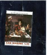 2011 San Marino - Dipinto Di Caravaggio - Used Stamps