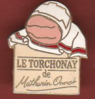 54172-Pin's -JAMBON LE TORCHONAY DE MATHURIN ONNO . - Alimentación