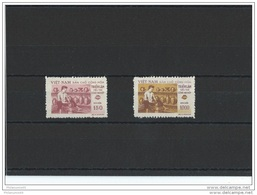 VIETNAM DU NORD 1958 - YT N° 148/149 NEUF SANS CHARNIERE ** (MNH) GOMME D'ORIGINE LUXE - Vietnam