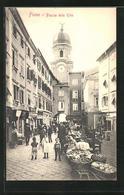 AK Fiume, Piazza Delle Erbe - Croatie
