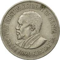 Monnaie, Kenya, 50 Cents, 1971, TTB, Copper-nickel, KM:13 - Kenya