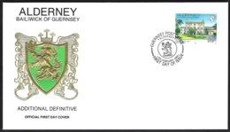 Alderney Yv 54  Additional Definitive F.D.C. - Alderney