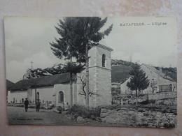 CPA 01 MATAFELON L'église - Francia