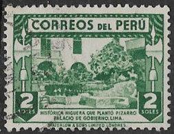 Peru SG647 1938 Definitive 2s Good/fine Used [38/31430/4D] - Peru