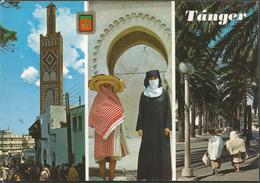 MOROCCO TANGER, PC, Circulated - Tanger