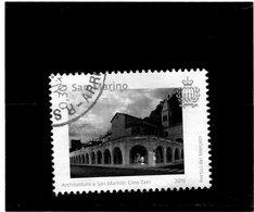 2015 San Marino - Architettura Di San Marino - Used Stamps