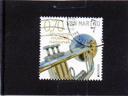 2014 San Marino - Strumento Musicale - Used Stamps