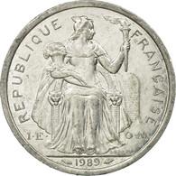 Monnaie, French Polynesia, 2 Francs, 1989, Paris, TTB, Aluminium, KM:10 - French Polynesia