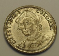ND - Christophe Colomb, ''trans Mare Currunt'' - Jetons En Medailles