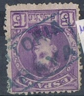 Sello 15 Cts Alfonso XIII, Carteria II, ARAYA (Vitoria) , Num 246 º - Usados