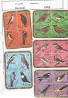 Burundi PO 1970 Blocchi Da 4 Uccelli Birds Scott.337/342+See Scan On Page; - Burundi