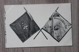 MELUN (77) - DRAPEAUX GROUPE PLM NOTRE DAME & UNION CATHOLIQUE DU PERSONNEL DES CHEMINS DE FER - Melun