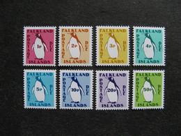 A). FALKLAND: TB Série Timbres Taxe N° 1 Au N° 8, Neufs XX. - Falkland