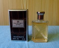 """Miniature  """"SAFARI FOR MEN  """" De RALPH LAUREN Avec Sa Boite - Miniatures Modernes (à Partir De 1961)"""