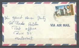 USED AIR MAIL COVER BARBADOS - Barbados (1966-...)
