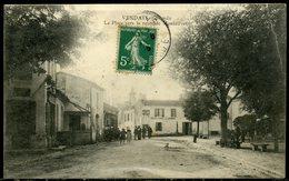 Cpa  Vendays  Route De Montalivet,  Animée - Other Municipalities