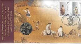 Belgie - Belgique Numisletter 3008/09 - Gemeenschappelijke Uitgave Met China - Numisletters