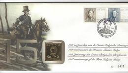 Belgie - Belgique Numisletter 2817/18 - 150 Jaar Belgische Postzegel - Numisletters
