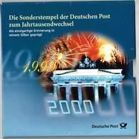 Medaille Die Sonderstempel Der Deutschen Post Zur Jahrtausendwende 999er Silber Original-Verpackung - [ 7] 1949-…: BRD