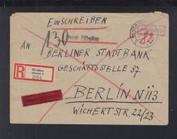 Alliierte Besetzung Expres Brief Weiden Flüchtlingslager 1945 Nach Berlin - Französische Zone
