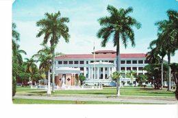 PANAMA 1962  -VINTAGE POSTCARD- CIUDAD DE PANAMA - HOSPITAL SANTO TOMAS MAILED TO MESSINA (Iitaly) 11/12/1962 FF213 POST - Panama