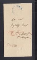 Württemberg Faltbrief 1847 Ludwigsburg - Deutschland