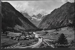 VAL D'AOSTA - COGNE - VALNONTEY - FORMATO PICCOLO  - VIAGGIATA 1955 - Italia