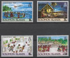 Solomon Islands 1989 Mi# 718-21** CHRISTMAS - Salomon (Iles 1978-...)