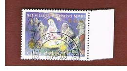 VATICANO - VATICAN - UNIF. 1335  - 2003  NATALE   -     (USED°) - Usati