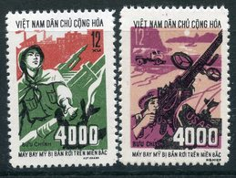 "Y85 VIETNAM NORTH 1972 707-708 ""4000th American Aircraft Shot Down Over North Vietnam."" Aviation. Military - Militaria"