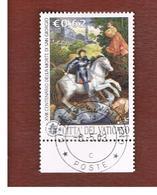VATICANO - VATICAN - UNIF. 1322  - 2003  17^ CENTENARIO SAN GIORGIO   -     (USED°) - Usati