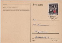 Germany ( Bohemia And Moravia) Postcard From 1943 - Bohemia & Moravia