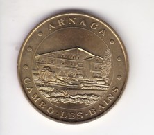Jeton Médaille Monnaie De Paris MDp Arnaga Cambo Les Bains Sans Date - Monnaie De Paris
