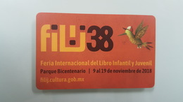 MEXICO - METRO - RECHARGEABLE CARD - FILIJ 38 - Abonos