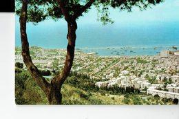 ISRAEL   -VINTAGE POSTCARD- HAIFA - VIEW FROM MOUNT CARMEL NEW  RE5397PALPHOT POST 7297 - Israel