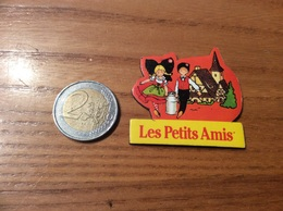 """Magnet """"Les Petits Amis"""" (fromage, Munster, Alsace) Type 1 - Magnets"""