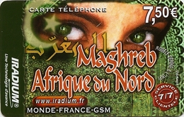 FRANCE Phonecard - IRADIUM Magreb 7.50 2007 - USED / NO AIRTIME - France