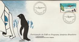 Brazil - Antartic Program - Topic Cancel / FDC - Airplanes