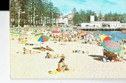 AUSTRALIA  -VINTAGE POSTCARD- NEW SOUTH WALES - MANLY HARBOUR BEACH NEW  P3041-2 MURFETT POST 7298 - Australia