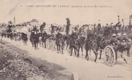 Camp Militaire Du Larzac Arrivée De L'Artillerie - War 1914-18