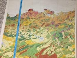 ALGERIE-CARTE GÉOGRAPHIQUE. RÉGION EST DU PAYS - Geographical Maps