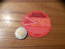Magnet Recette «QUICHE LORRAINE» - Magnets